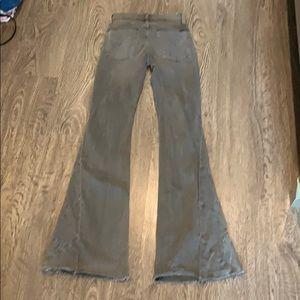 Hudson Laurel Patchwork flare jeans